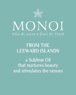 Monoi oil with coconut oil and Tiare flowers - From the LEEWARD ISLANDS, a Sublime Oil that nurtures beauty and stimulates the senses